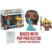 Funko Pop! Disney: Moana - Moana and Kakamora Vinyl Figure 2 Pack (Bundled with Pop BOX PROTECTOR CASE)