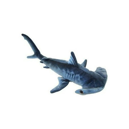 - Blue Printed Hammerhead Shark Plush Toy 24