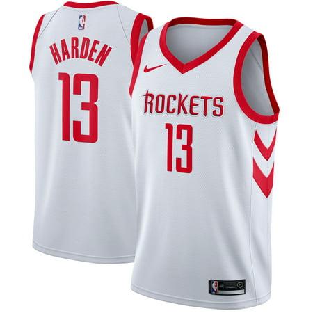 free shipping e48de 432a0 James Harden Houston Rockets Nike Swingman Jersey White - Association  Edition