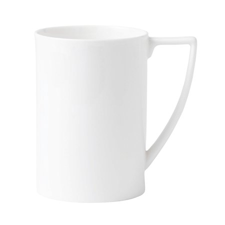 by Wedgwood White Bone China Mug 0.85 Pt, By Jasper Conran at Wedgwood By Jasper Conran,USA