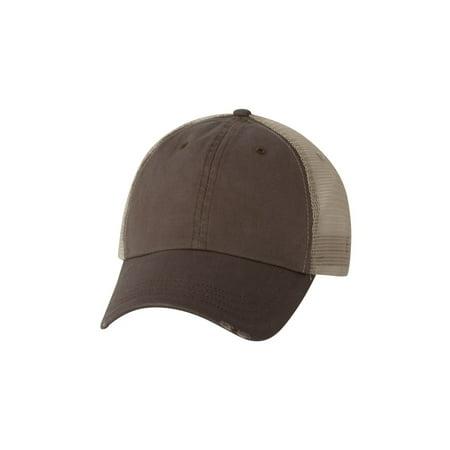 Mega Cap 6887 Organic Cotton/Mesh Cap ()