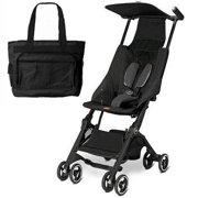 Goodbaby GB 616230013KT  Pockit Stroller With Diaper Bag  - Monument Black