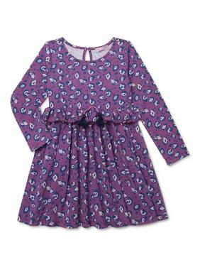 Mila & Emma Exclusive Girls Fashion Tassel Dress, Sizes 4-18