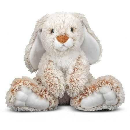 Melissa & Doug Burrow Bunny Rabbit Stuffed Animal (14 inches) - Stuffed Animal Games