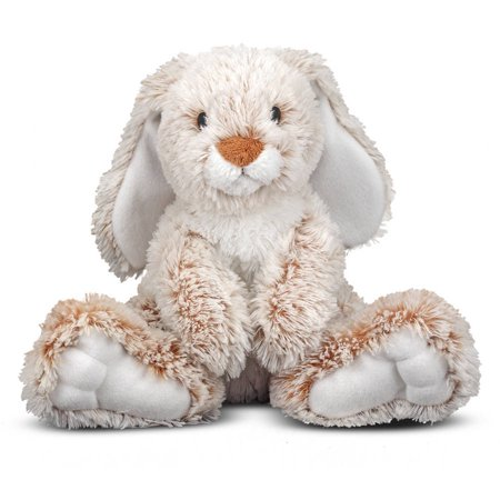 Melissa & Doug Burrow Bunny Rabbit Stuffed Animal (14 inches) Doug Puzzles Stuffed Animals