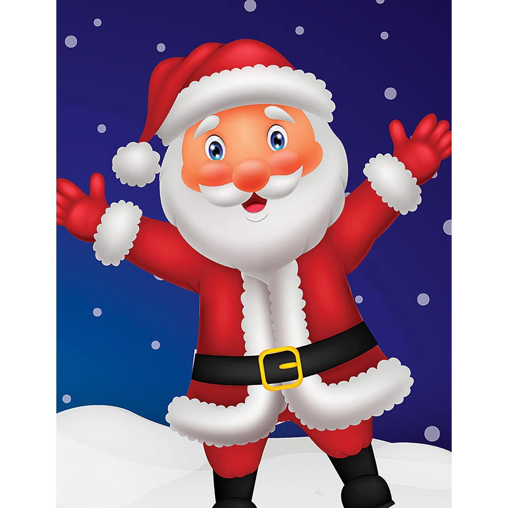 Hello Santa! Mini 100 Piece Puzzle,  Christmas Puzzles by Eurographics