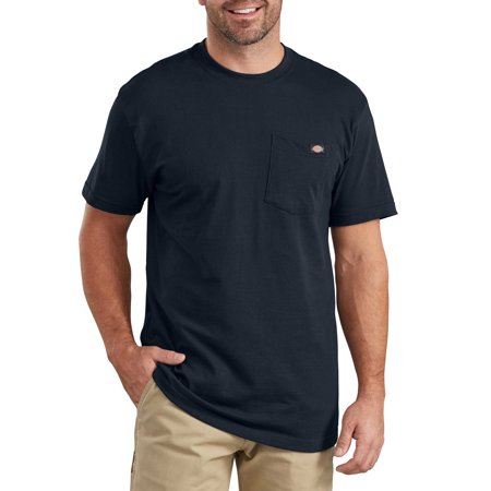 Big and Tall Men's Short Sleeve Pocket Tee Shirt