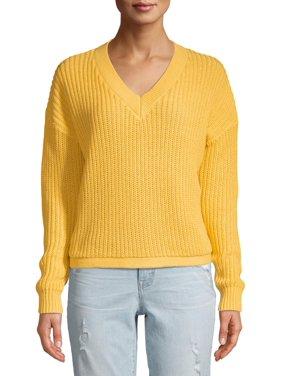 Women's V-Neck Shaker Pullover