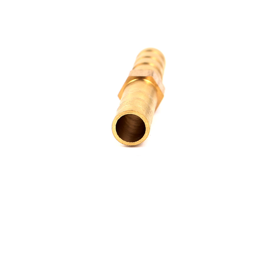 6mm Air Water Gas Brass Straight Hose Connector Joiner Gold Tone 5pcs - image 1 of 2