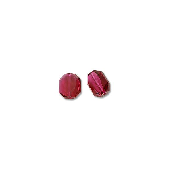 Swarovski Graphic Bead 5520 12x10mm Ruby (Package of 1)