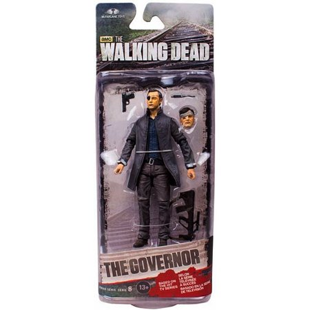McFarlane Walking Dead Series 6 Governor with Long Coat Action Figure