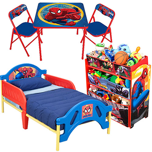 Spiderman Room-in-a-Box