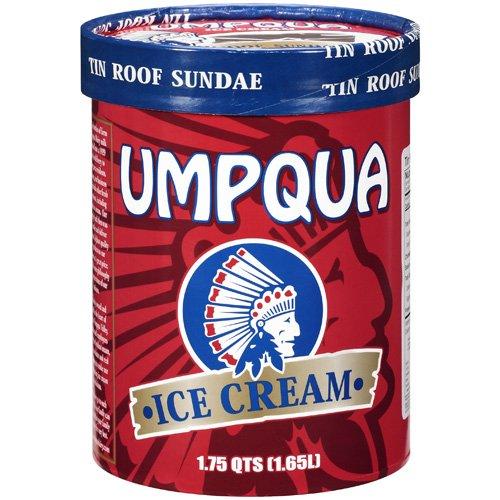 Umpqua Tin Roof Sundae Ice Cream, 1.75qt