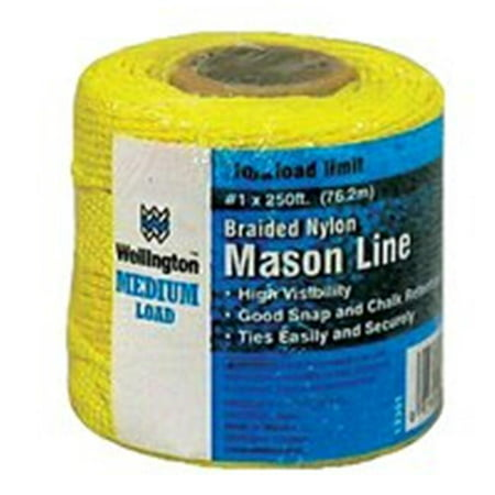 Wellington 13351 Mason Chalk Line 250 ft L Line Yellow Line
