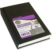 "Cachet Sketchbook 4"" x 6"" Soft White Paper Hardbound"