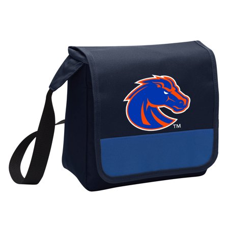 OFFICIAL Boise State Broncos Lunch Bag Mens or Womens Boise State University Lunch Box Cooler with Shoulder Strap