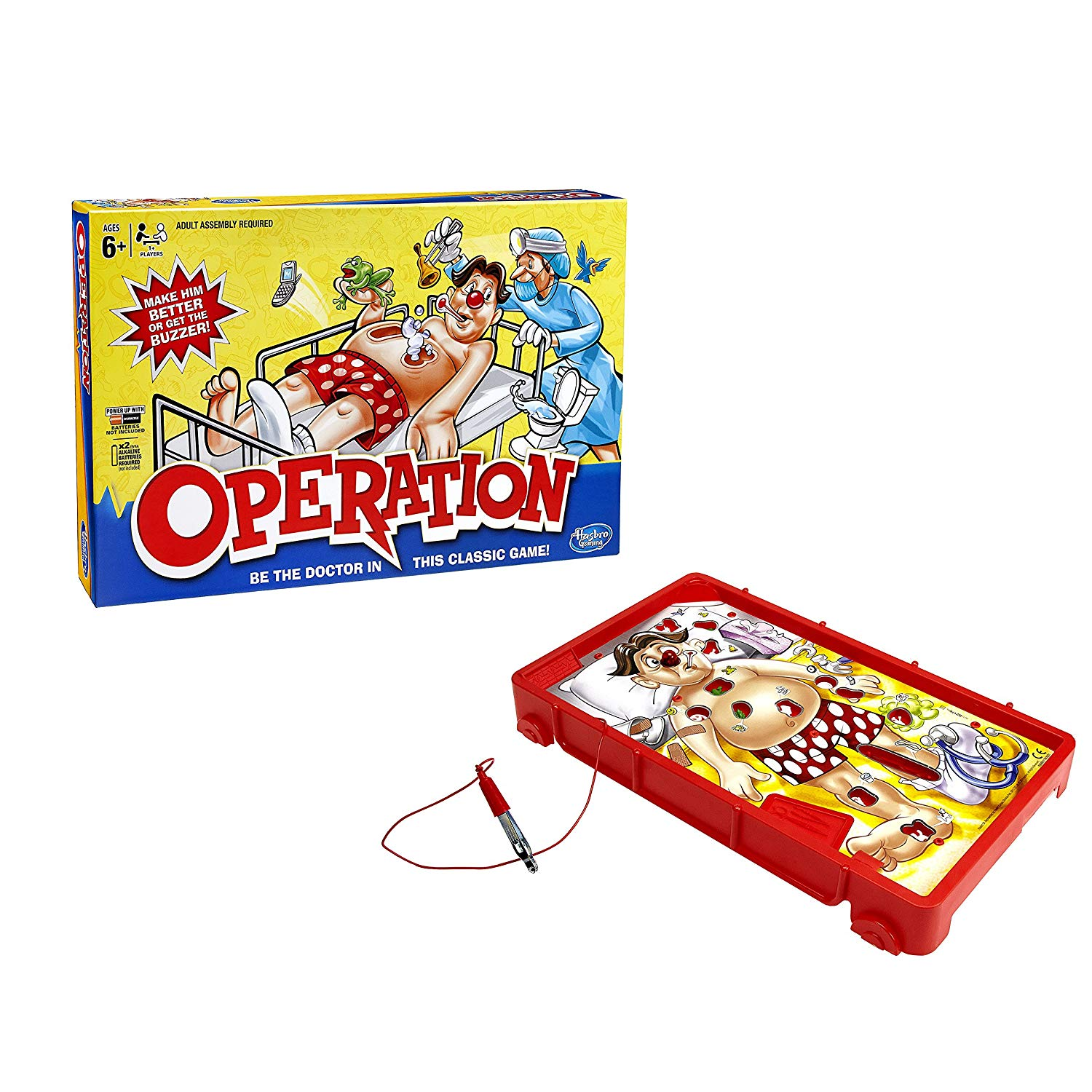 Hasbro Operation Game by