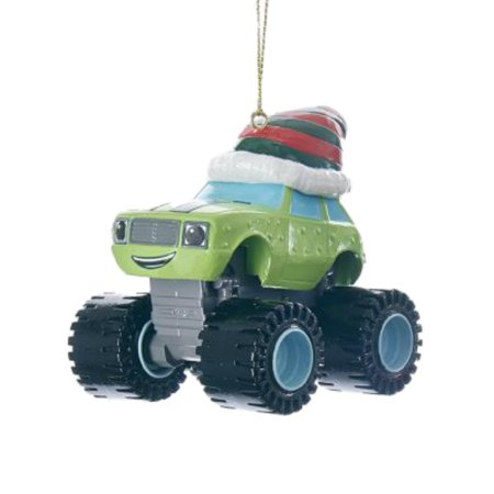 Master Pickle (Blaze & The Monster Machines Green Pickles Truck Holiday Christmas Tree)