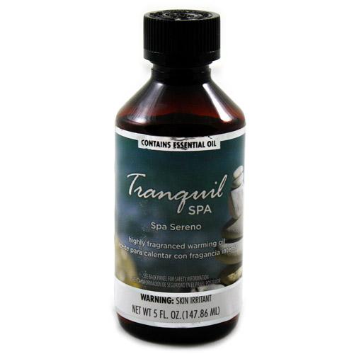 FLORA CLASSIQUE INC. Fragranced Warming Oil 150mL Tranquil Spa Fragrance