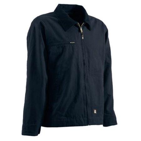 Berne Apparel J374MDR600 4X-Large Regular Washed Gasoline Jacket Fleece Lined - Midnight
