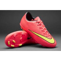 New Nike Jr Mercurial Victory V FG Size 2.5y Soccer Molded Cleat Org/Yllw 651634