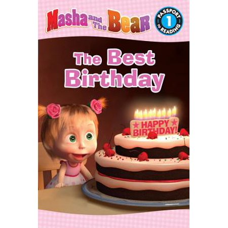 Masha and the Bear: The Best Birthday - eBook (Masha And The Bear Halloween Costume)