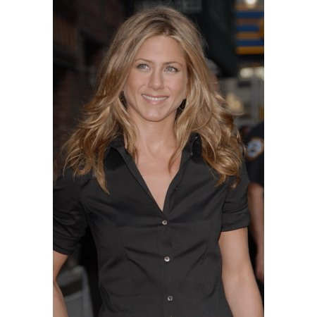 Jennifer Aniston At Arrivals For Late Show With David Letterman The Ed Sullivan Theater New York Ny May 24 2006 Photo By George TaylorEverett Collection (Late Show With David Letterman Musical Guests)