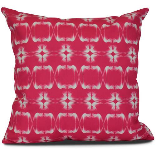 Simply Daisy, Summer Picnic, Geometric Print Pillow