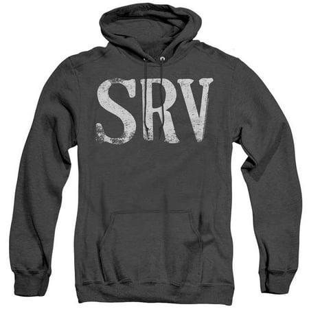 Trevco Sportswear SRV105-AHH-3 Stevie Ray Vaughan & Srv Adult Heather Hoodie, Black - Large - image 1 of 1