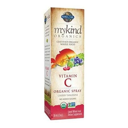 Mykind Organics Vitamin C Organic Spray Cherry Tangerine