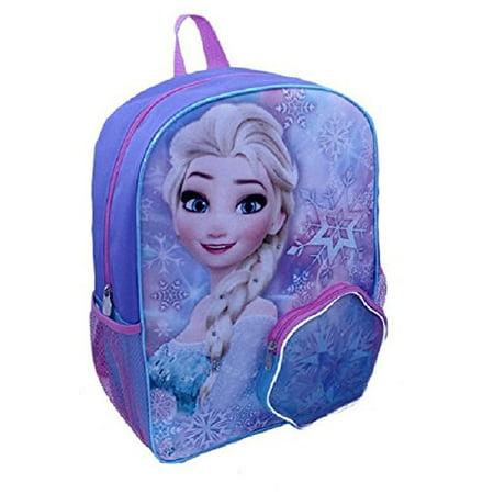 Disney Frozen Elsa 16 inch Backpack with Side Mesh - Disney Mesh Backpack