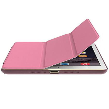 Zeimax iPad mini, iPad mini 2, iPad mini 3 Ultra Thin Magnetic Smart Cover & Back Case (Ipad Mini Case With Smart Cover Function)