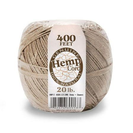 Hemp Cord Necklace (Hemp Spool Natural 20Lb 400Ft)