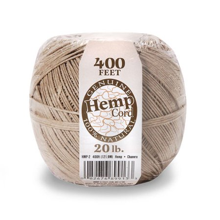 (Hemp Spool Natural 20Lb 400Ft)
