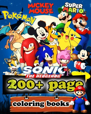 Super Mario, Sonic the hedgehog, Pokemon, mikey mouse ...