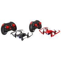Sky Rider Racing Drones, Set of 2, Red and Black
