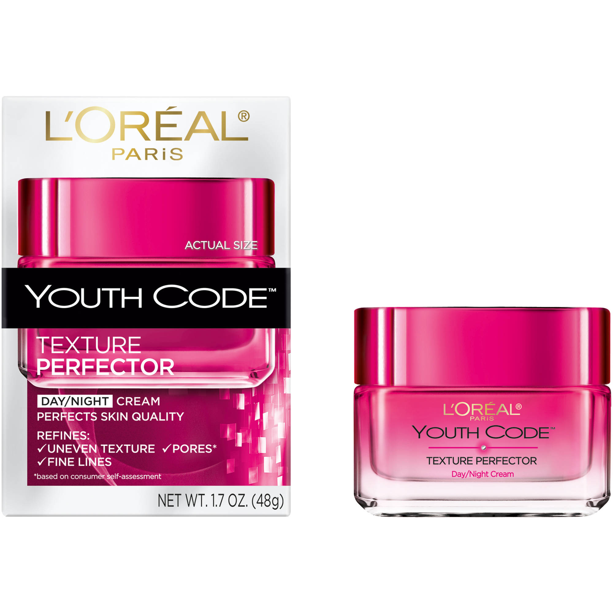 **Discontinued**L'Oreal Paris Youth Code Texture Perfector Day/Night Cream, 1.7 oz