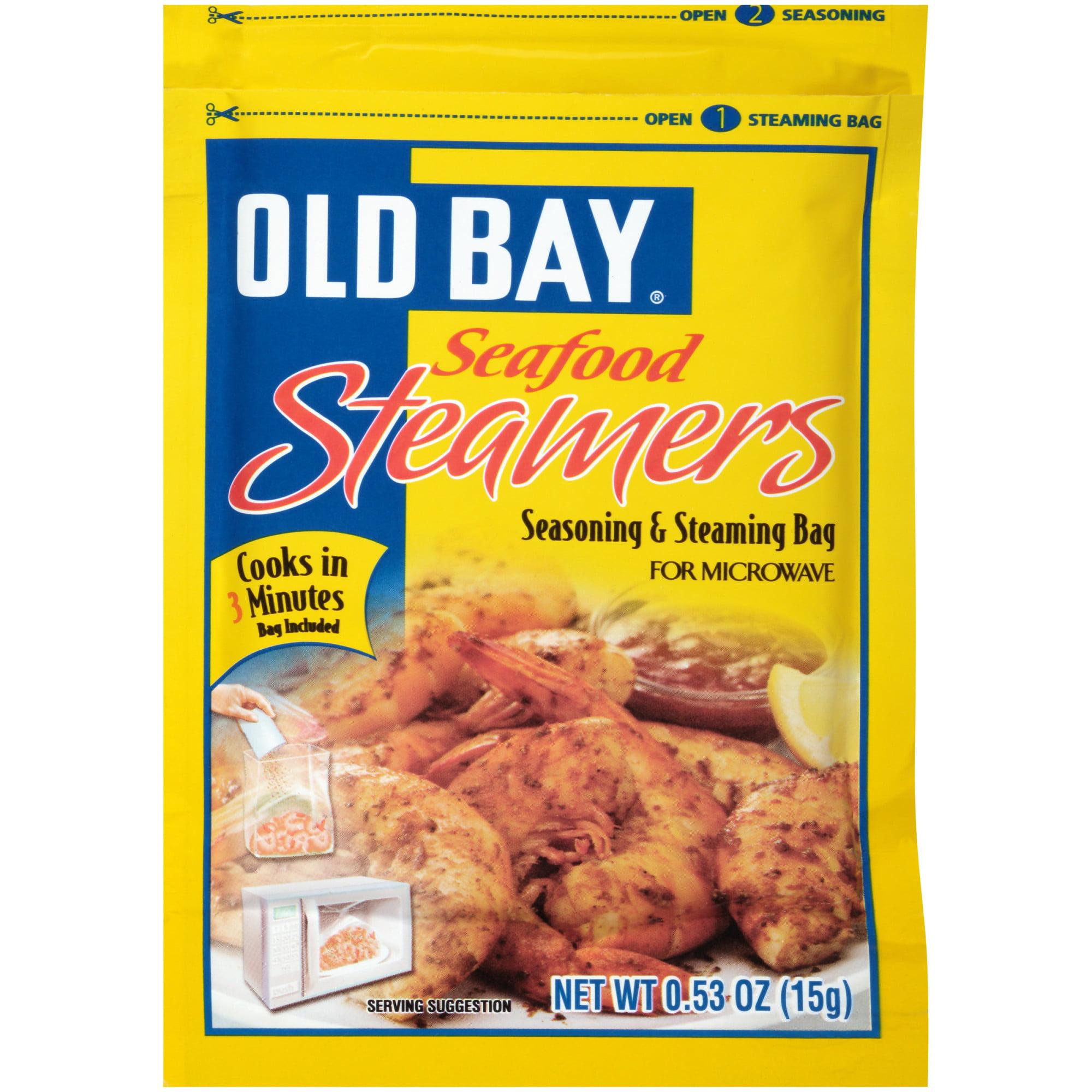 OLD BAY Seafood Steamers Seasoning And Steaming Bag, 0.53 OZ