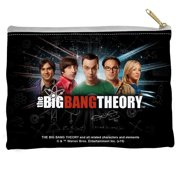 Big Bang Theory Group Spark Accessory Pouch White 8.5X6