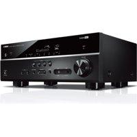 Yamaha RX-V385 A/V Receiver - 5.1 Channel - Black - 0.1% THD
