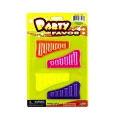 New 500815  4-Pk Panpipes Asst (24-Pack) Tambourines Cheap Wholesale Discount Bulk Toys Tambourines Fashion Accessories - Wholesale Tambourines