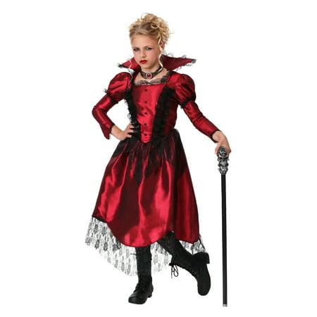 Girls Classic Vampire Costume - Vampire Costumes For Girl Tweens
