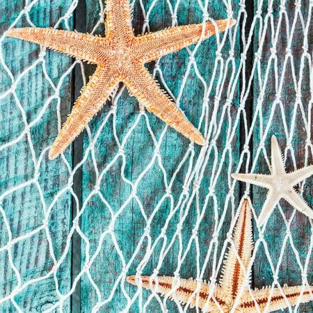 Fish Net Decor (Cotton Fish Net 6' x 6',)