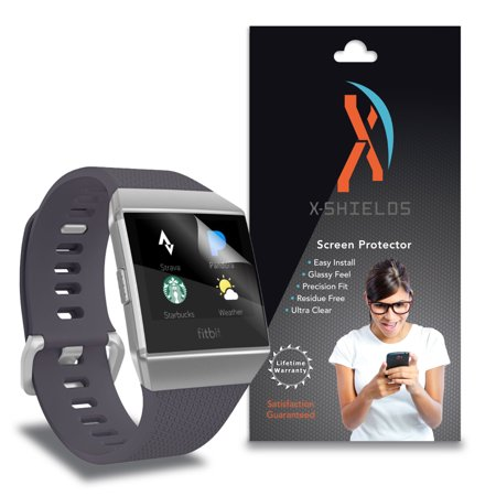 Xshields  High Definition  Hd   Screen Protectors For Fitbit Ionic  Maximum Clarity  Super Easy Installation  5 Pack  Lifetime Warranty  Advanced Touchscreen Accuracy