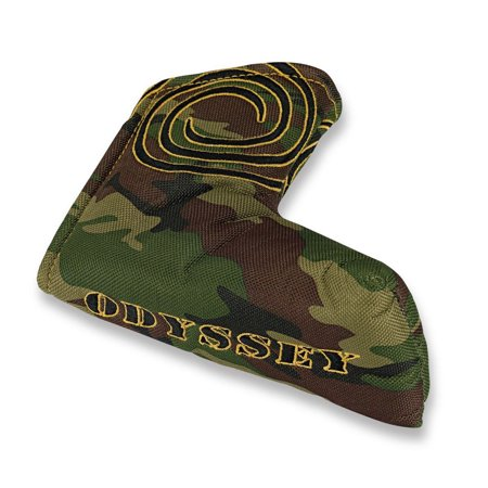 (NEW Odyssey Camo Blade Velcro Putter Headcover)