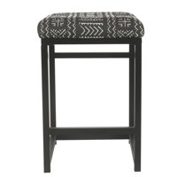 """HomePop 24"""" Open Back Counter Stool, Multiple Colors"""