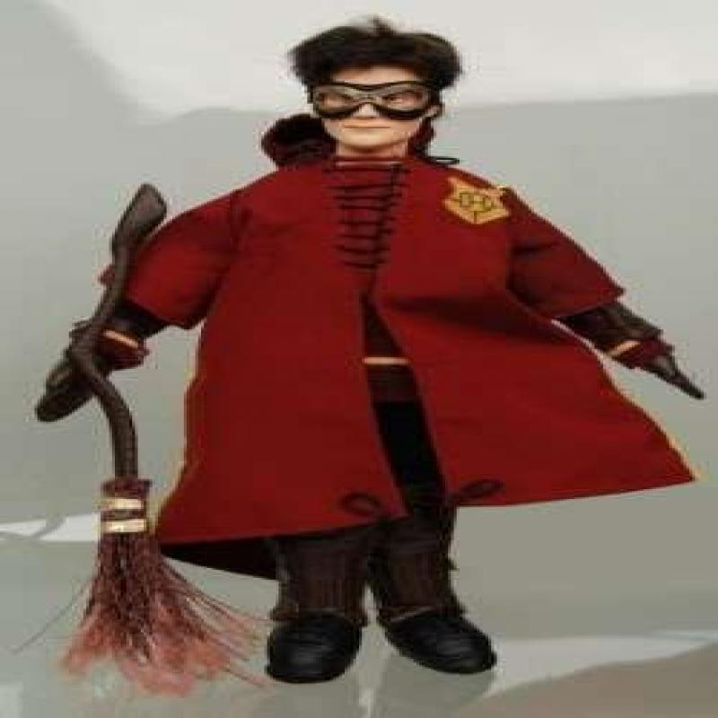 Harry Potter Doll In Quidditch Robes by