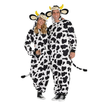Adult Cow Onesie Costume Cow Farm Animal Costume
