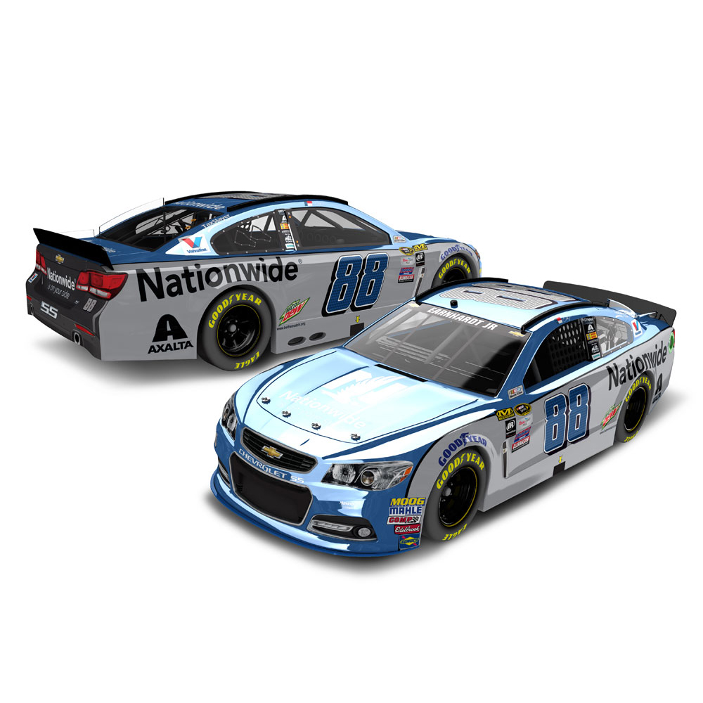 Dale Earnhardt Jr. Action Racing 2016 #88 Nationwide 1:24 Nascar Sprint Cup Series Color Chrome Die-Cast Chevrolet SS No... by Lionel LLC