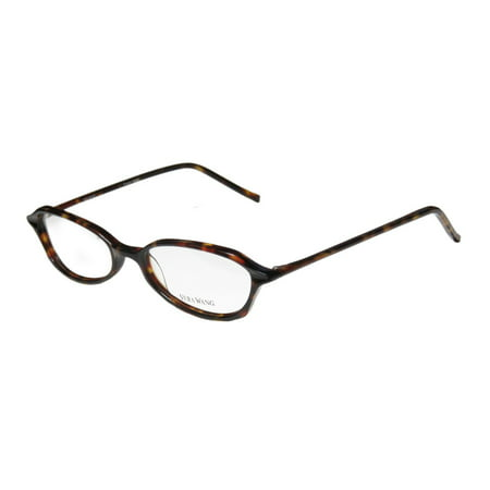New Vera Wang V38 Womens/Ladies Designer Full-Rim Tortoise Durable Inexpensive Demo Lens Frame Demo Lenses 49-17-135 Eyeglasses/Glasses